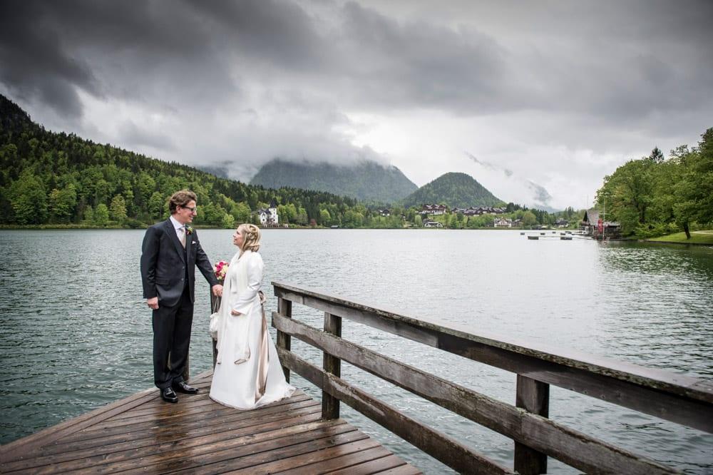 Fotoshooting mit dem Brautpaar, Grundlsee, Steinernes Meer, Ausseerland, Hochzeit in den Bergen, Hochzeitsshooting, Hochzeitsfotograf, Wedding, Wedding Photographer, Land Salzburg, Lorenz Masser