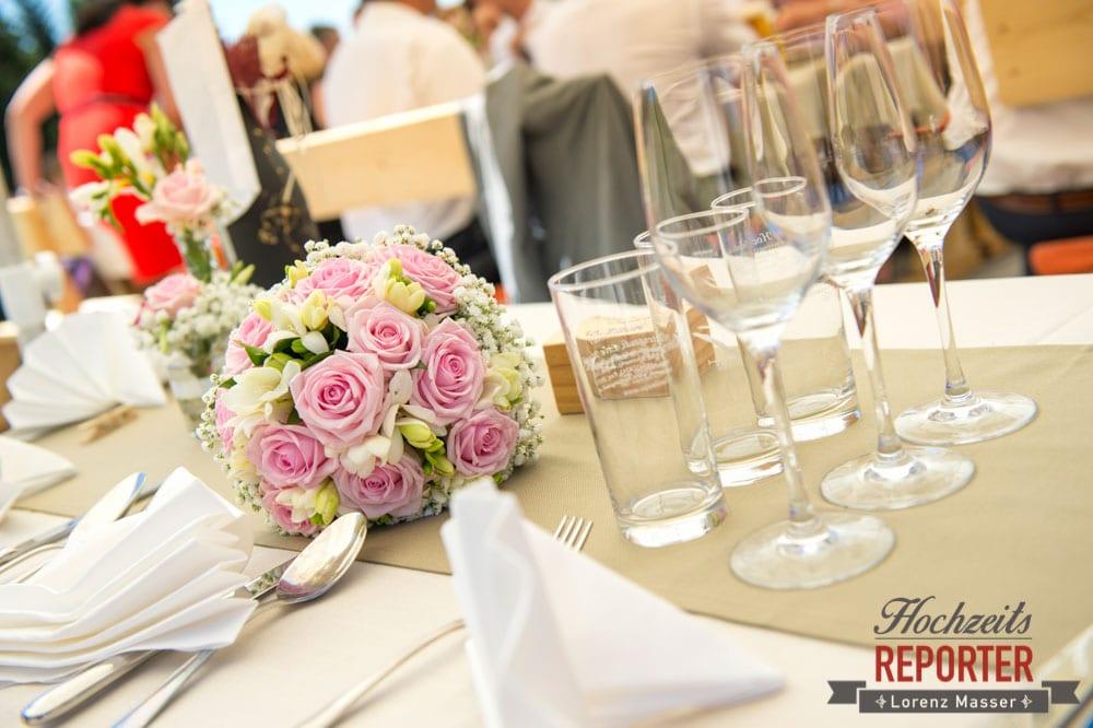 Hochzeit mit Tischgedeck, Hochnössler, Altenmarkt,  Hochzeit in den Bergen, Hochzeitsshooting, Hochzeitsfotograf, Wedding, Wedding Photographer, Land Salzburg, Lorenz Masser