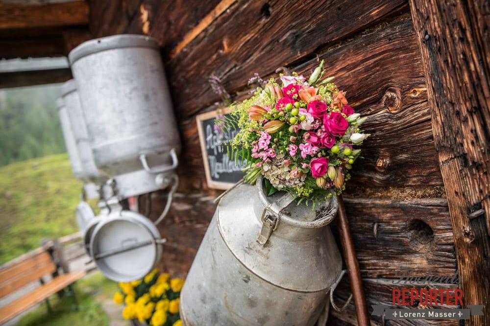 Brautstrauß, Detail, Alm,  Hochzeit in den Bergen, Tauernkarleitenalm, Radstadt, Hochzeitsshooting, Hochzeitsfotograf, Wedding, Wedding Photographer, Land Salzburg, Lorenz Masser