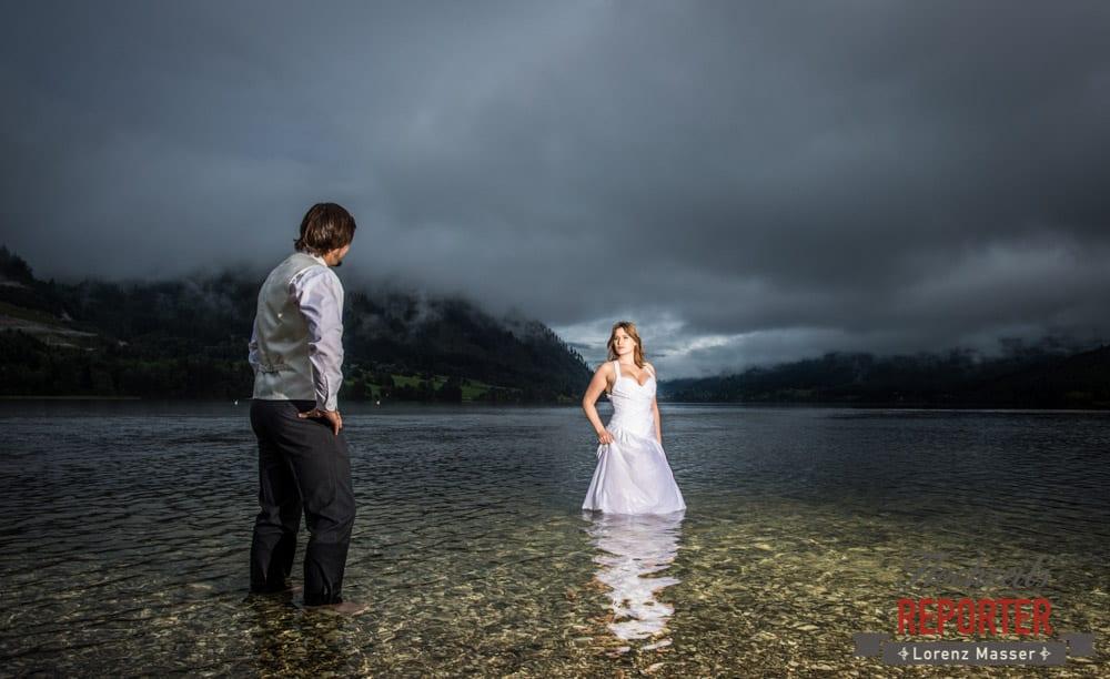 Trash the Dress, Brautpaar, Hochzeits shooting, Hochzeitsfotograf, Wedding Photographer, Grundlsee, Land Salzburg, Lorenz Masser