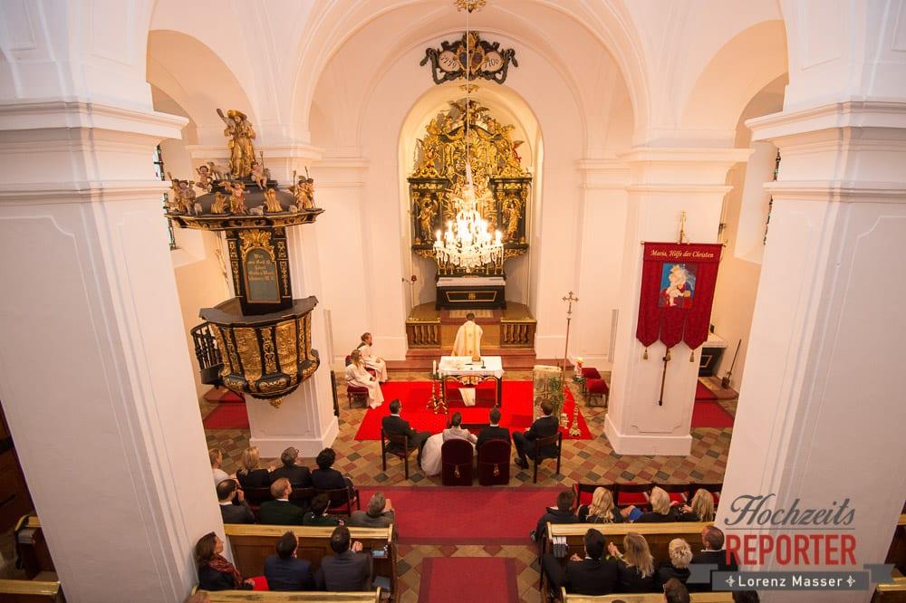 Kirchliche Trauung, Brautpaar, Schloss Mondsee, Hochzeit, Wedding, Wedding Photographer, Land Salzburg, Lorenz Masser
