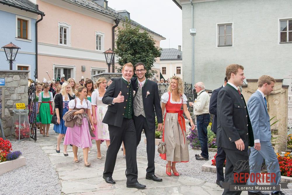 Bräutigam mit Freund, Winterbauer, Altenmarkt, Wedding, Wedding Photographer, Hochzeitsfotograf, Land Salzburg, Lorenz Masser