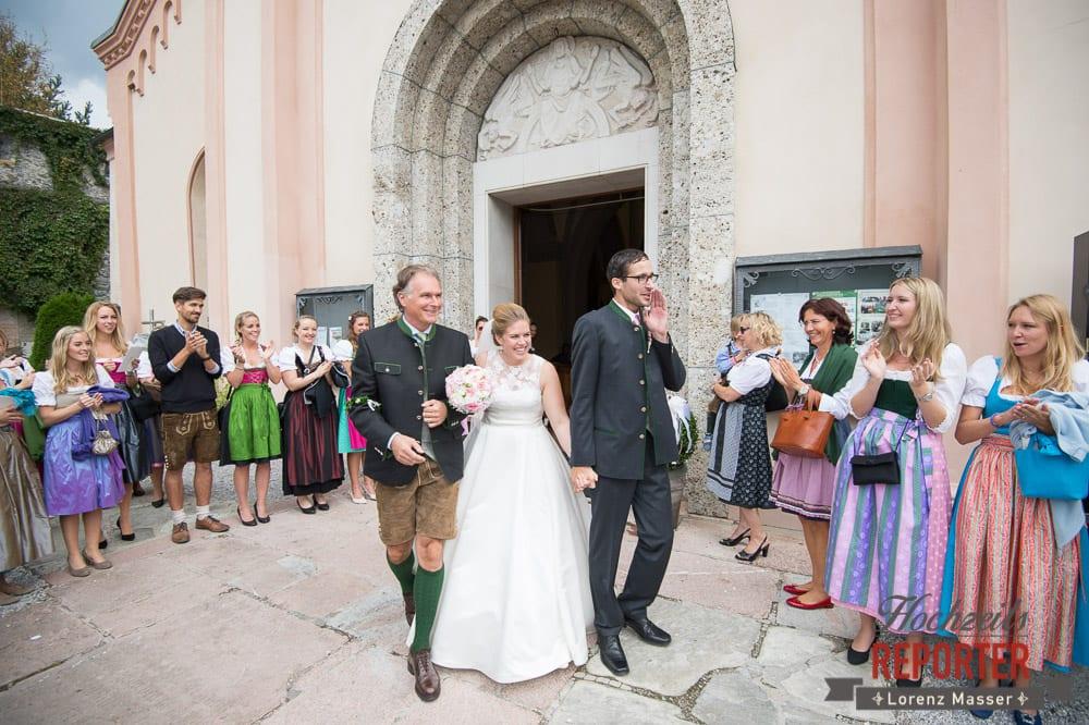 Brautpaar nach der Trauung, Winterbauer, Altenmarkt, Wedding, Wedding Photographer, Hochzeitsfotograf, Land Salzburg, Lorenz Masser