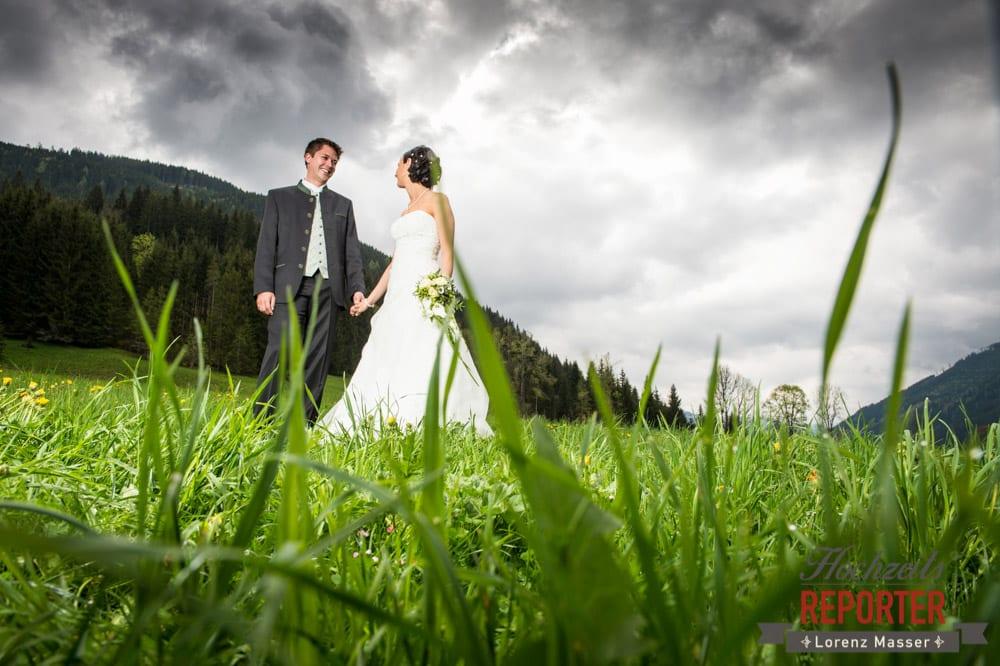 Brautpaar, Portrait, Radstadt, Hochzeitsfotograf, Wedding Photographer,Land Salzburg,  Lorenz Masser