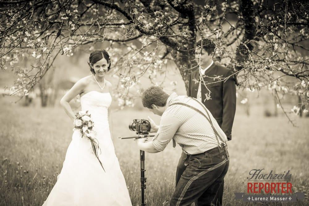 Braut wird Fotografiert, Radstadt, Hochzeitsfotograf, Wedding Photographer,Land Salzburg,  Lorenz Masser