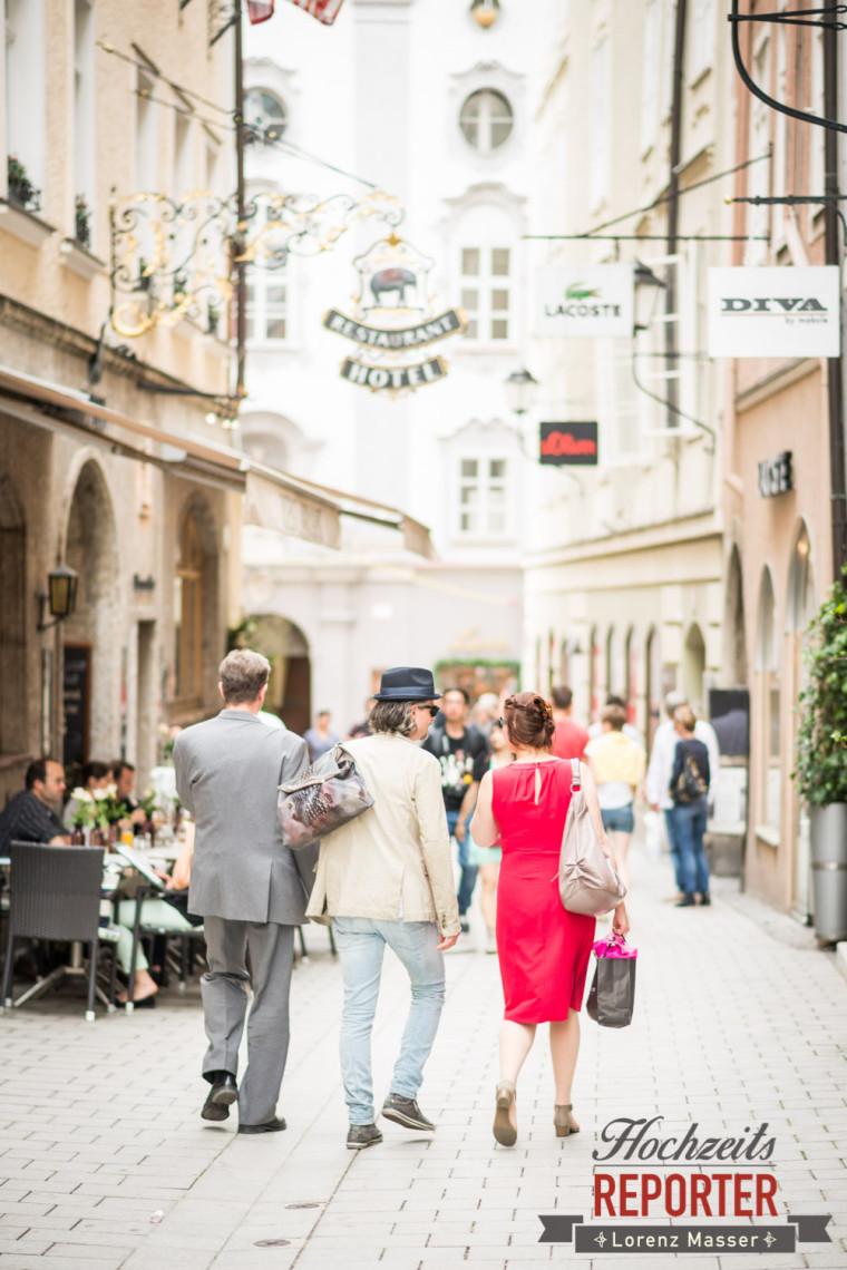 Hochzeit in der Altstadt, Schloss Mirabell, Altstadt Salzburg, Hochzeit, Hochzeitsfotograf, Wedding, Hochzeitsshooting, Wedding Photographer,Fotograf Land Salzburg, Lorenz Masser