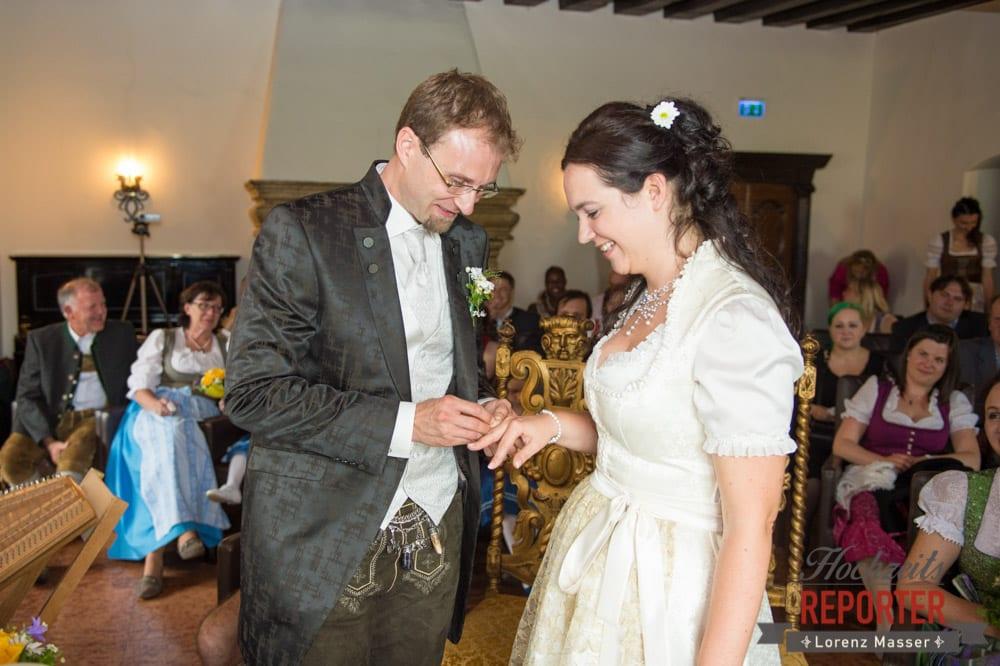 Ringtausch, Hochzeit, Schloss Mittersill, Mittersill, Hochzeit, Hochzeitsfotograf, Wedding Photographer,Fotograf Land Salzburg, Lorenz Masser