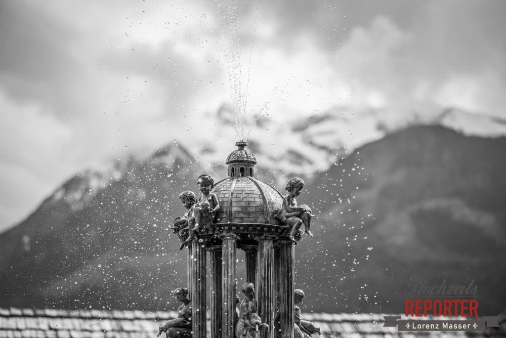 Springbrunnen wie eingefroren, Hochzeit, Schloss Mittersill, Mittersill, Hochzeit, Hochzeitsfotograf, Wedding Photographer,Fotograf Land Salzburg, Lorenz Masser