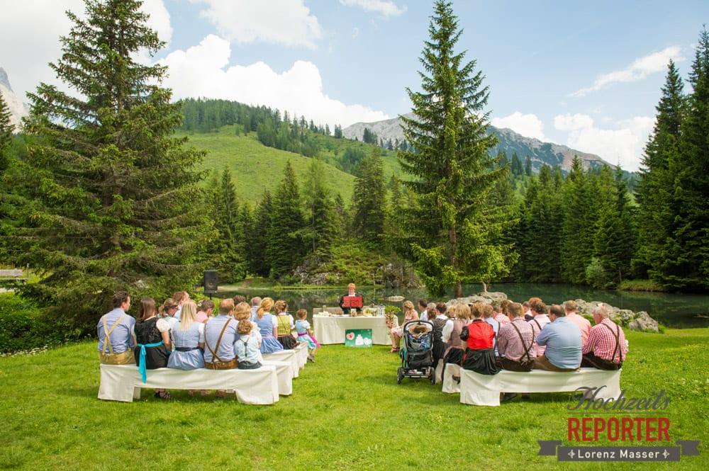 Trauung, Trauung im Wald, Trauung in den Bergen,  Filzmoos, Hochzeitsfotograf, Wedding Photographer,Land Salzburg, Lorenz Masser