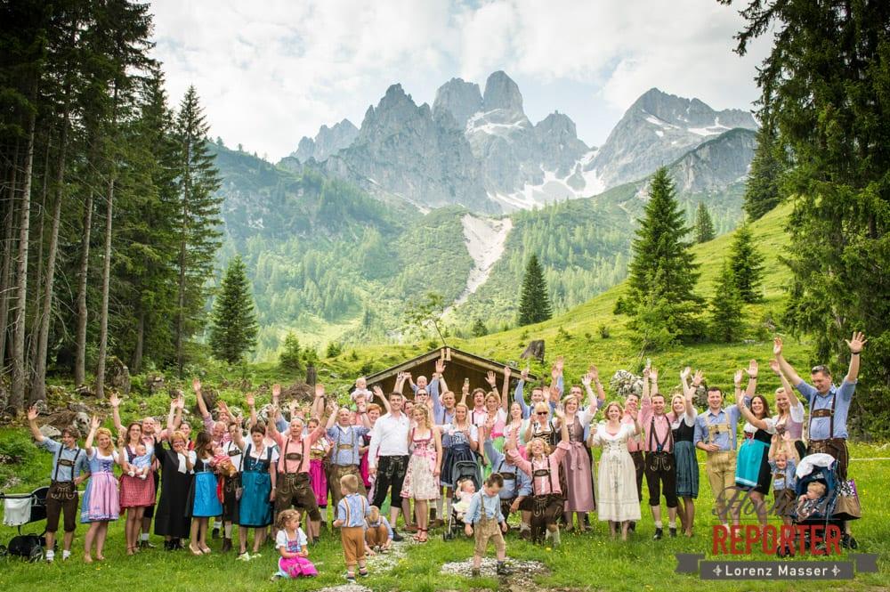 Hoczeitsgesellschaft, Filzmoos, Hochzeitsfotograf, Wedding Photographer,Land Salzburg, Lorenz Masser