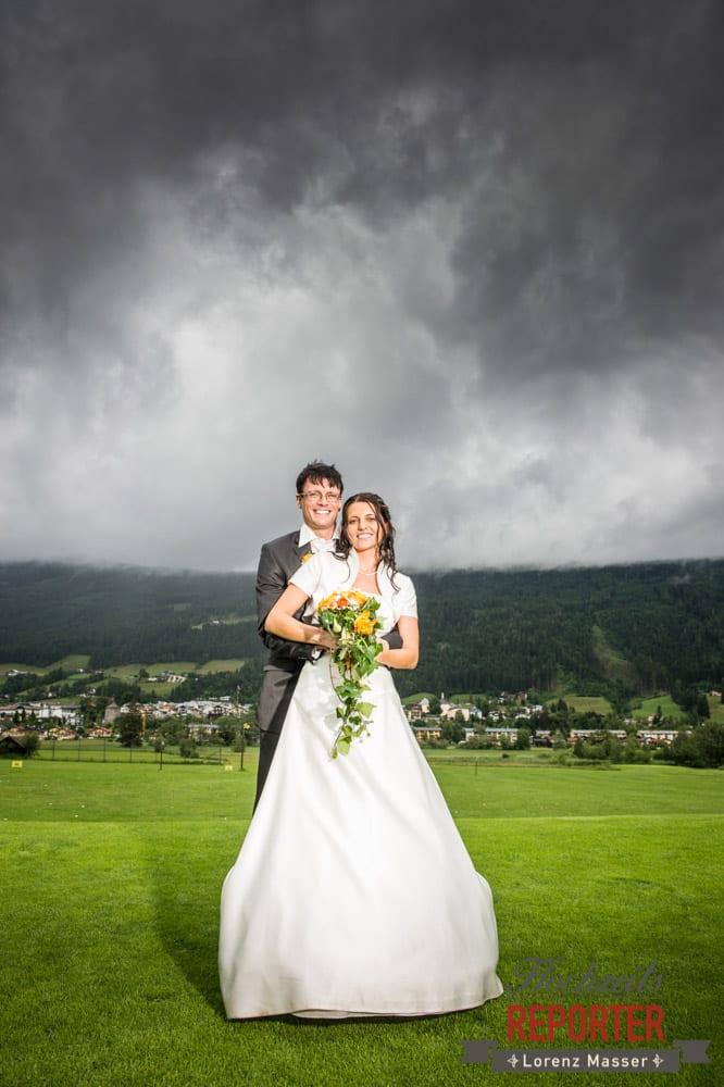 Dramatisch, Brautpaar, Radstadt, Wedding Photographer, Hochzeit,Hochzeitsfotograf, Land Salzburg, Lorenz Masser