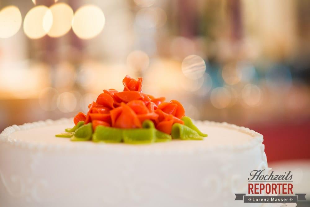 Marzipanblume auf Hochzeitstorte, Radstadt, Wedding Photographer, Hochzeit,Hochzeitsfotograf, Land Salzburg, Lorenz Masser