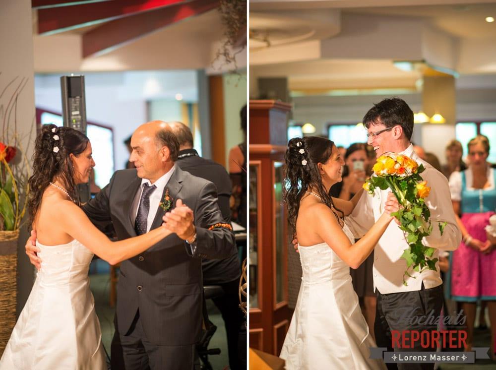 Erster Tanz mit dem Vater, Eröffnungstanz, Radstadt, Wedding Photographer, Hochzeit,Hochzeitsfotograf, Land Salzburg, Lorenz Masser