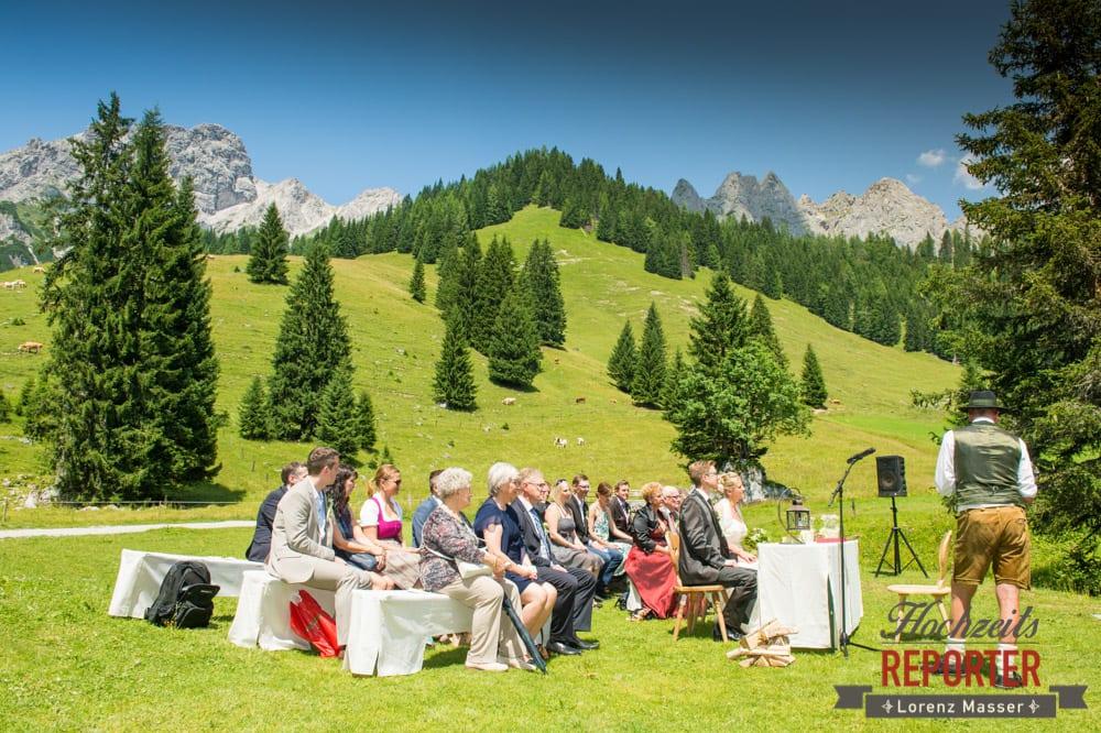 Trauung, Unterhofalm, Filzmoos, Hochzeitsfotograf, Wedding Photographer, Lorenz Masser