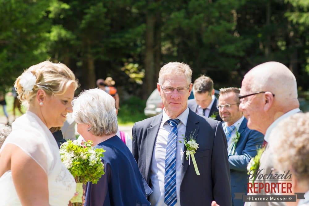 Nach der Trauung, Unterhofalm, Filzmoos, Hochzeitsfotograf, Wedding Photographer, Lorenz Masser