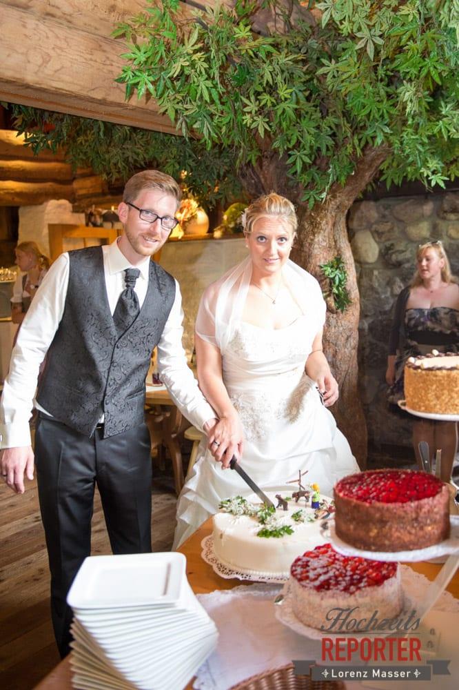 Hochzeitstorte, Unterhofalm, Filzmoos, Hochzeitsfotograf, Wedding Photographer, Lorenz Masser