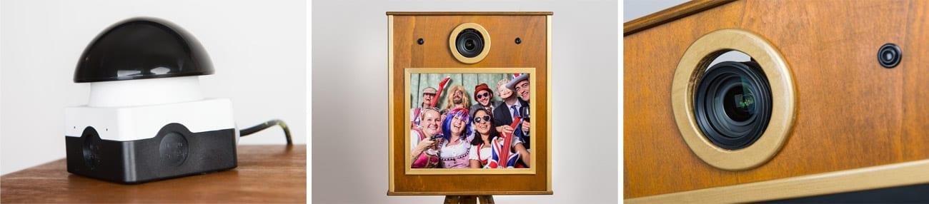 Fotobox mit der man sich selbst fotografieren kann