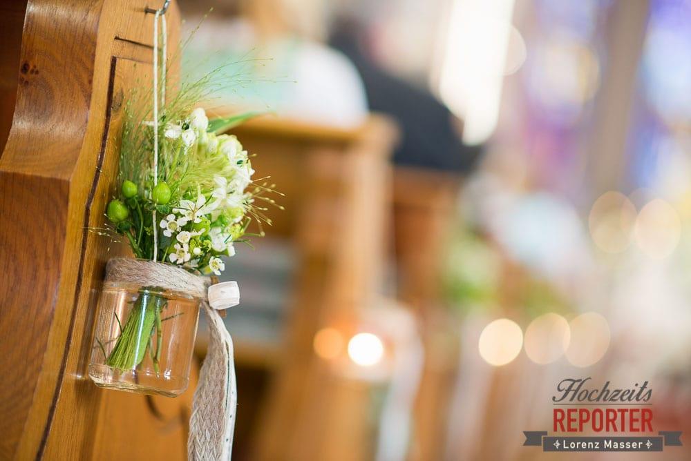 Blumendekoration in der Kirche, Radstadt, Wedding Photographer, Hochzeit,Hochzeitsfotograf, Land Salzburg, Lorenz Masser