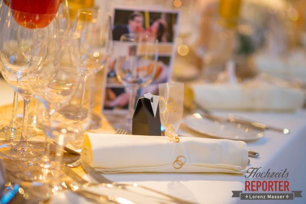 Tischdeko bei Hochzeit, Schloss Prielau, Zell am See,  Wedding Photographer, Hochzeit,Hochzeitsfotograf, Land Salzburg, Lorenz Masser