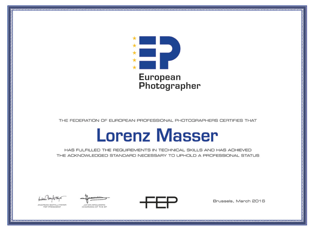 European Photographer Lorenz Masser