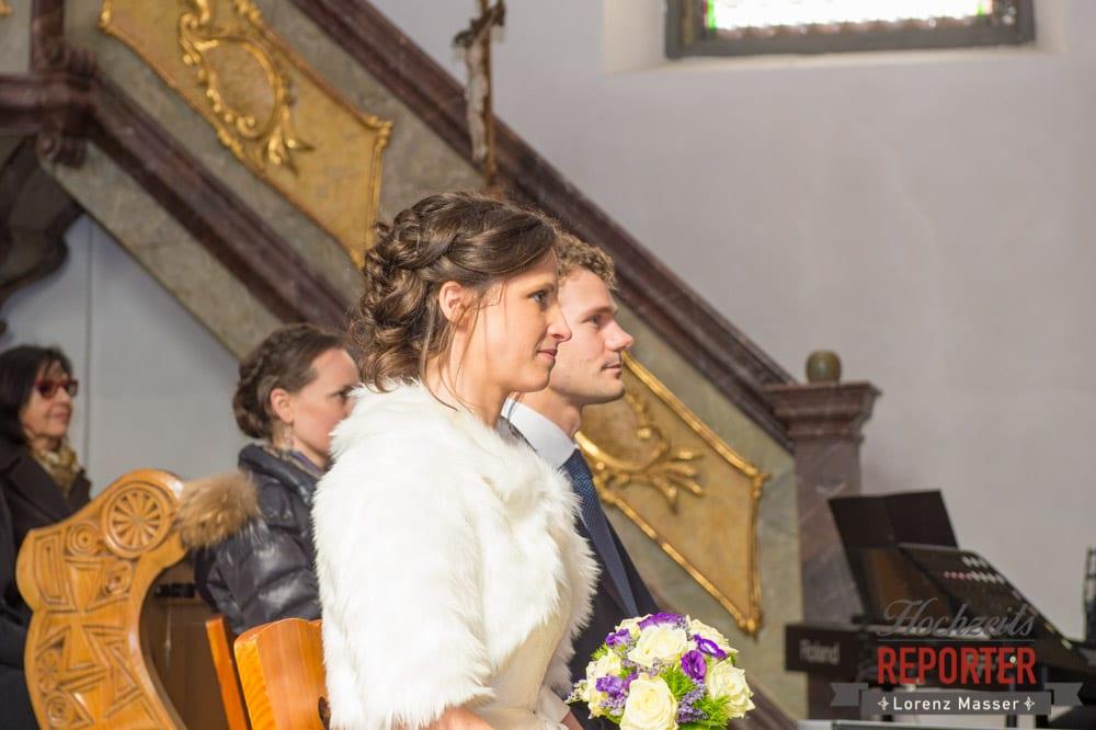 Trauung des Brautpaares, Pichl, Ramsau, Hochzeitsfotograf, Wedding photographer, Land Salzburg, Lorenz Masser