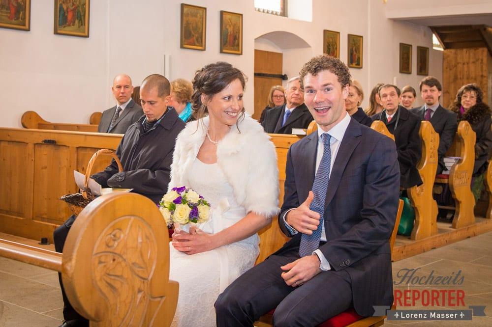 Daumen hoch Brautpaar, Pichl, Ramsau, Hochzeitsfotograf, Wedding photographer, Land Salzburg, Lorenz Masser