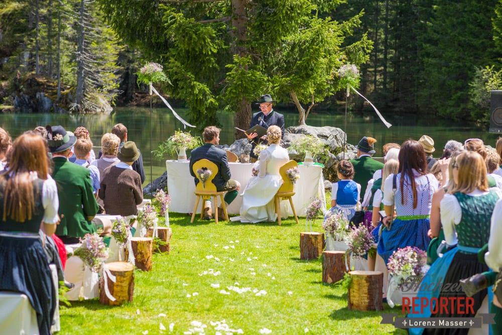 Trauung, Unterhofalm, Filzmoos, Wedding, Hochzeit, Hochzeitsfotograf, Lorenz Masser, Land Salzburg