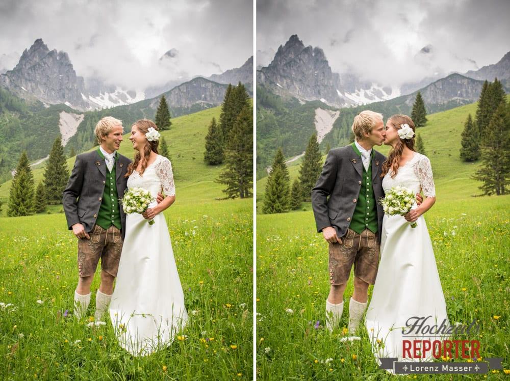 Filzmoos, Wedding, Hochzeitsfotograf, Land Salzburg, Unterhofalm, Lorenz Masser