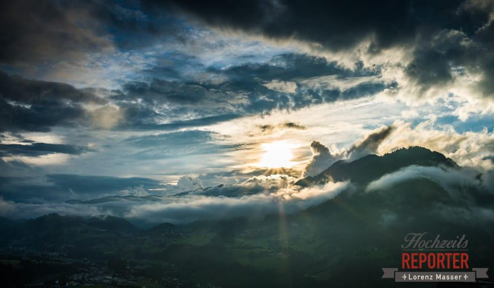 Himmel, Berge Panorama, Filzmoos, Dramatisch, Hochzeit, Filzmoos, Wedding, Hochzeitsfotograf, Land Salzburg, Unterhofalm, Lorenz Masser