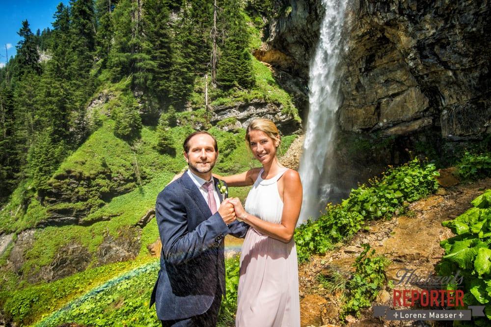 Brautpaar, Gnadenalm, Obertauern, Johanneswasserfall, Hochzeitsfotograf, Land Salzburg, Lorenz Masser
