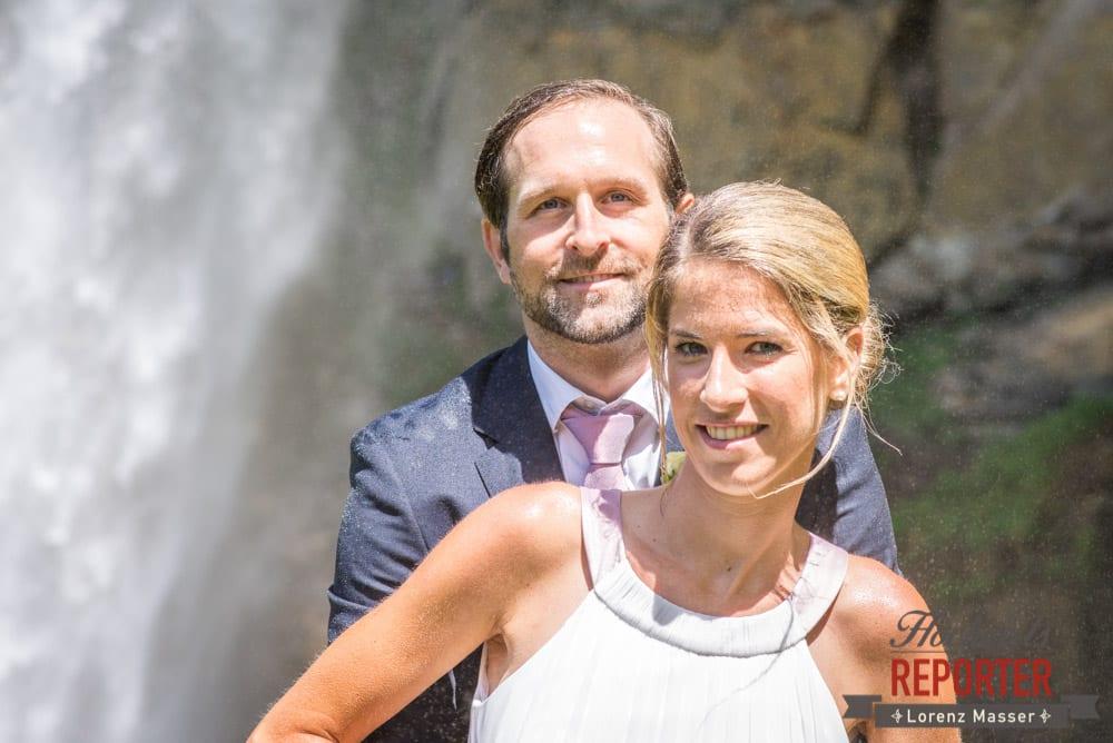 Brautpaar, Portrait, Gnadenalm, Obertauern, Johanneswasserfall, Hochzeitsfotograf, Land Salzburg, Lorenz Masser