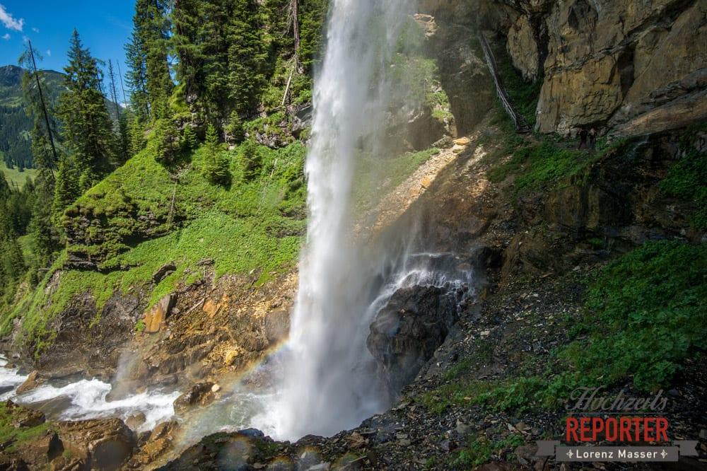 Wasserfall, Gnadenalm, Obertauern, Johanneswasserfall, Hochzeitsfotograf, Land Salzburg, Lorenz Masser