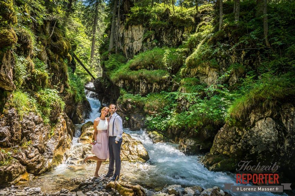 Portrait, Brautpaar, Natur, Gnadenalm, Obertauern, Johanneswasserfall, Hochzeitsfotograf, Land Salzburg, Lorenz Masser