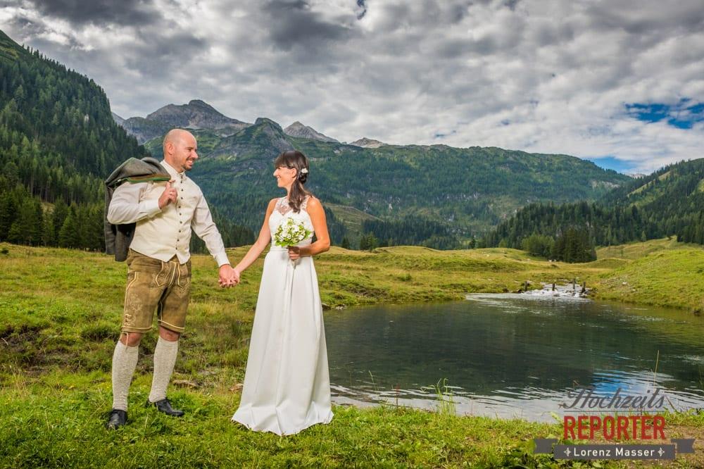 Hochzeit, Hochzeitsfotograf, Gnadenalm, Wagrain, Land Salzburg, Lorenz Masser