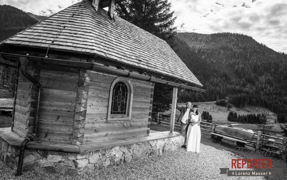 Brautpaar, Kapelle, Hochzeit, Radstadt, Wagrein, Hochzeitsfotograf, Land Salzburg, Lorenz Masser