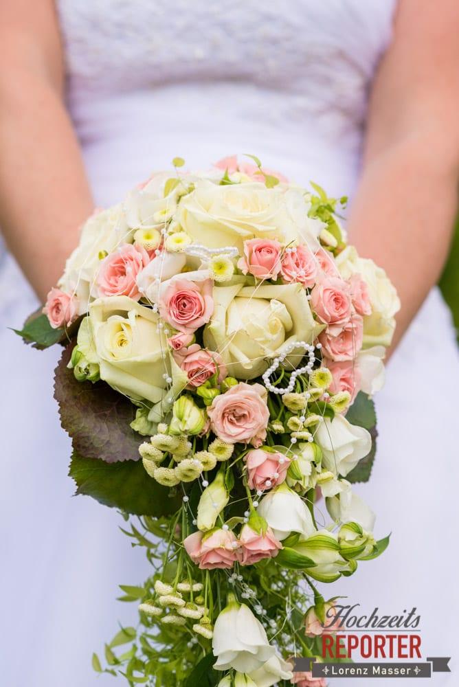 Brautstrauß, Detail, Standesamtliche Hochzeit, Bad Aussee, Hochzeitsfotograf, Land Salzburg, Lorenz Masser
