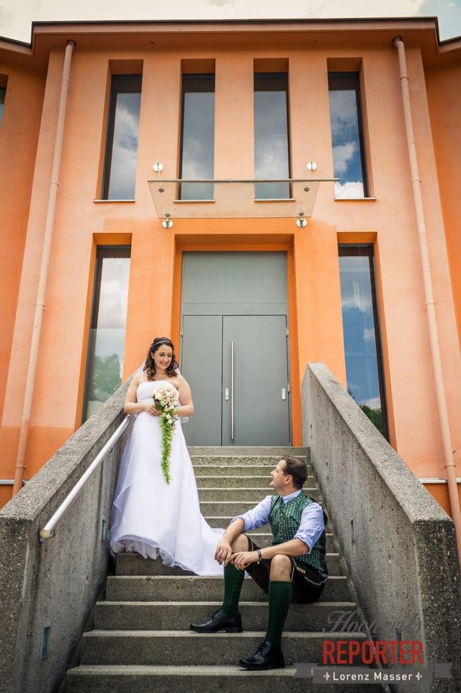 Brautpaar, Architekturfotografie, Standesamtliche Hochzeit, Bad Aussee, Hochzeitsfotograf, Land Salzburg, Lorenz Masser