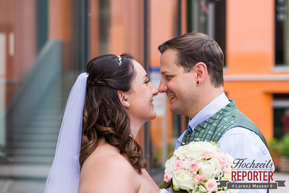 Brautpaar, Standesamtliche Hochzeit, Bad Aussee, Hochzeitsfotograf, Land Salzburg, Lorenz Masser