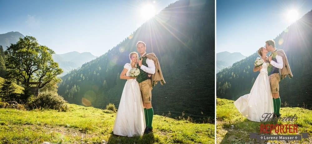 Trachtenhochzeit, Hochzeit in den Bergen, Altenmarkt, Hochzeitsfotograf, Land Salzburg
