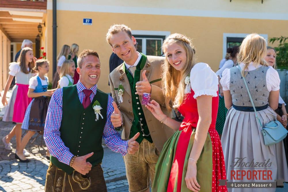 Bräutigam mit Trauzeugen, Hochzeit, Hochzeitsfotograf, Altenmarkt, Land Salzburg, Lorenz Masser