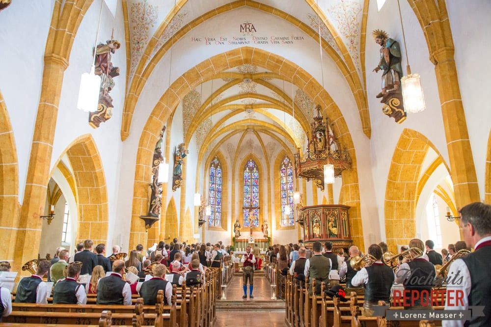 Kirche, Tracht, Trauung, Hochzeit, Hochzeitsfotograf, Altenmarkt, Land Salzburg, Lorenz Masser