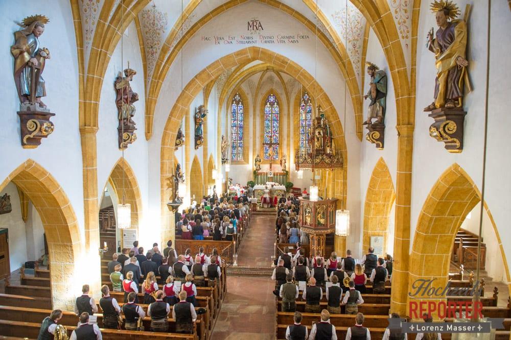 Kirche, Trauung, Hochzeitsgesellschaft, Hochzeit, Hochzeitsfotograf, Altenmarkt, Land Salzburg, Lorenz Masser