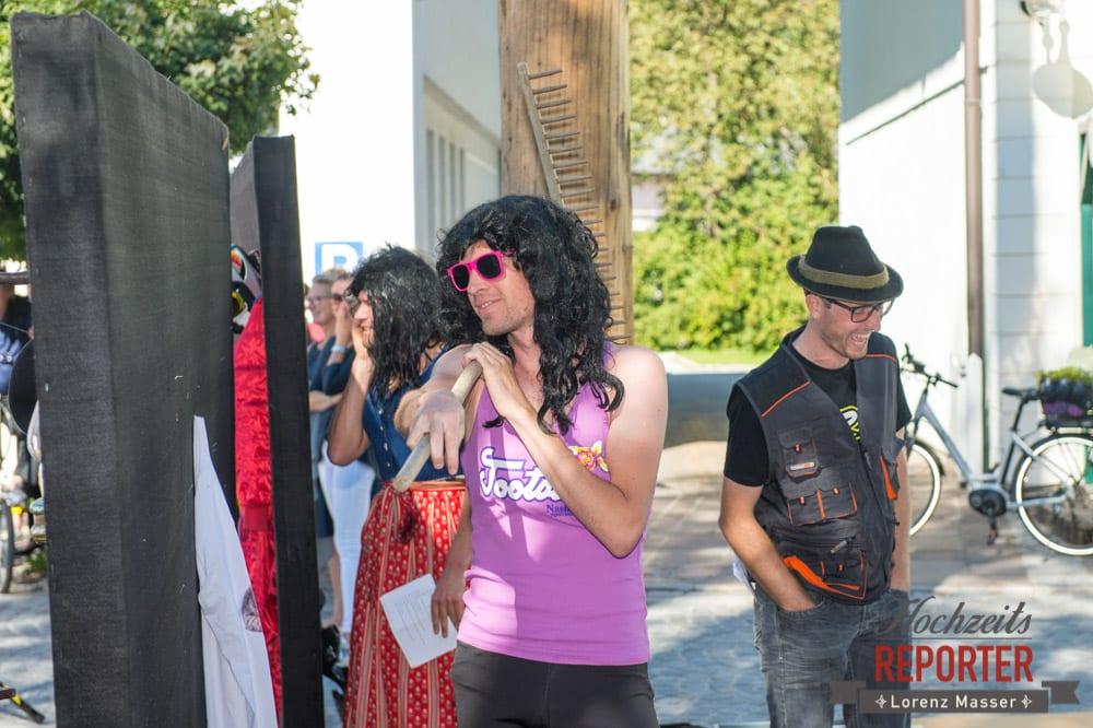 Spaß nach Hochzeit, Gaudi, Hochzeit, Hochzeitsfotograf, Altenmarkt, Land Salzburg, Lorenz Masser