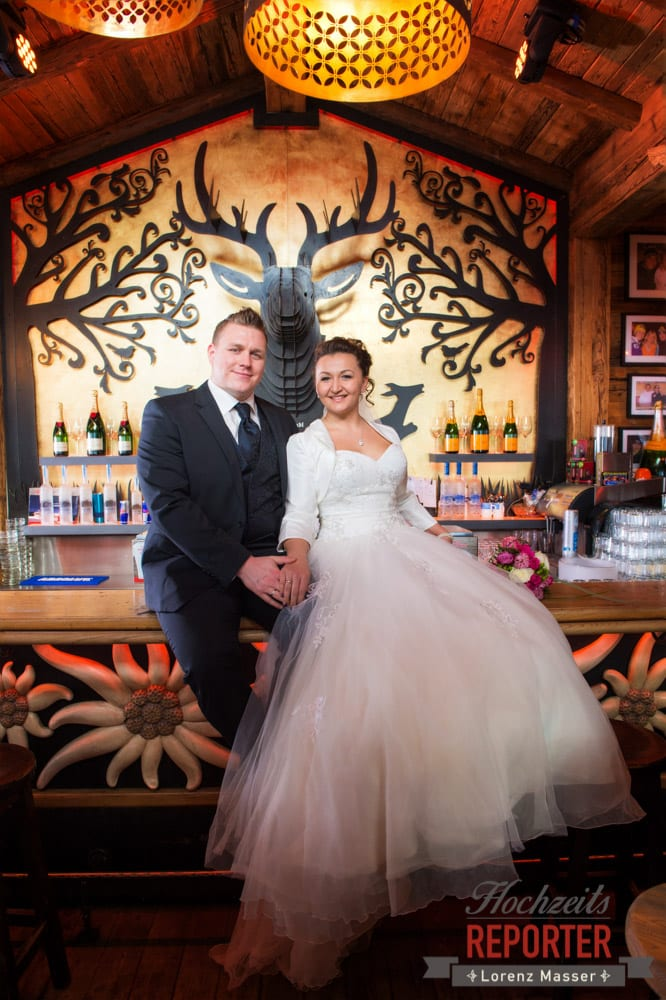 After Wedding Shooting, Brautpaar, Hofstadl in Flachau, Hochzeitsfotograf im Land Salzburg