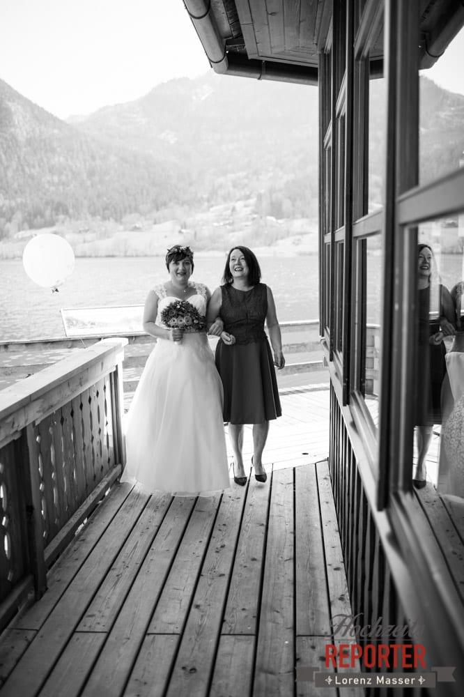 Tochter heiratet, Mutter, Tochter, Fotograf, Hochzeitsfotograf, Fotoshooting, Steiermark, Grundlsee, Land Salzburg