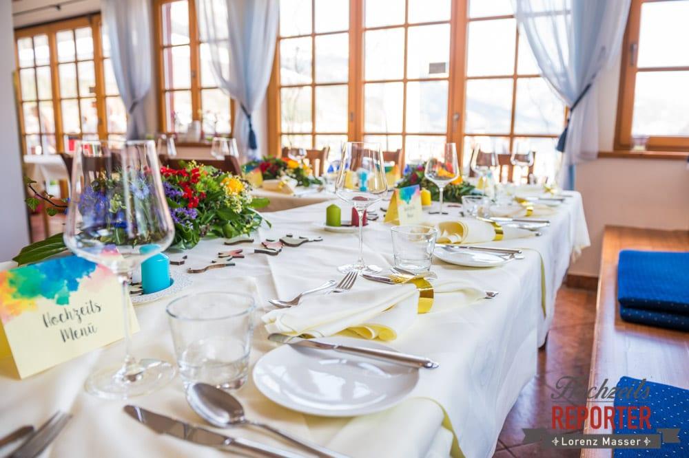 Hochzeitstafel, Tischgestaltung, Ideen zur Tischgestaltung,  Hochzeit, Grundlsee, Steiermark, Hochzeitsfotografie