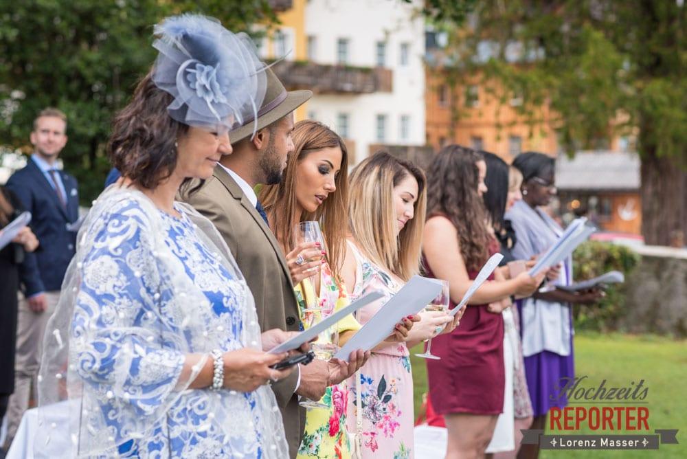 Hochzeitsgesellschaft, Hochzeit, Hallstatt, Heritage Hotel, Hochzeit, Hochzeitsfotograf, Fotograf Land Salzburg, Lorenz Masser