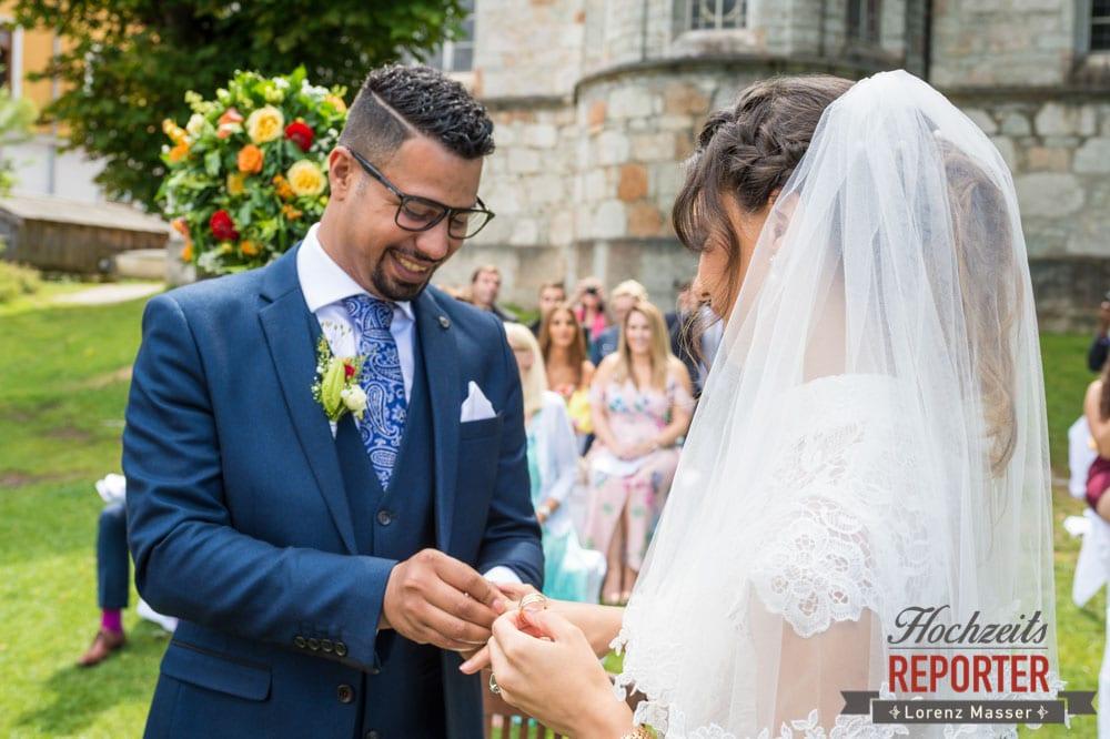 Ringwechsel, Hochzeit, Hallstatt, Heritage Hotel, Hochzeit, Wedding, Hochzeitsfotograf, Fotograf Land Salzburg, Lorenz Masser