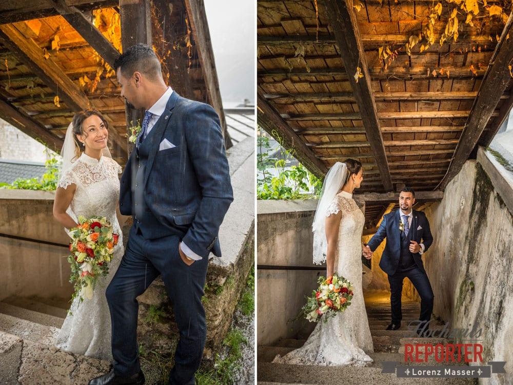 Portraits eines frisch verheirateten Paares, Heritage Hotel, Hochzeit, Wedding, Hochzeitsfotograf, Fotograf Land Salzburg, Lorenz Masser