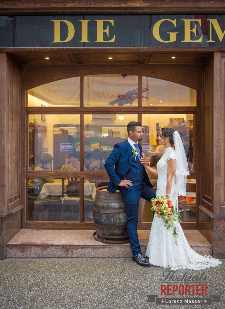 Bride and Groom, Portrait, Heritage Hotel, Hochzeit, Wedding, Hochzeitsfotograf, Fotograf Land Salzburg, Lorenz Masser